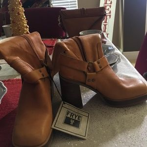 Frye Leather Boots - never worn. Completely new.